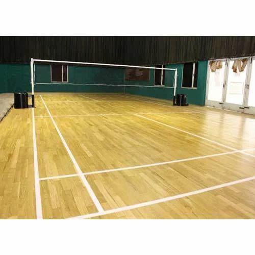 Volleyball Court Indoor Flooring Services in Shendra, Aurangabad ...