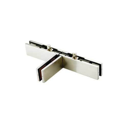 T Shape Double Patch with Fin, For Glass Fitting, Model Name/Number: SH-PF-10