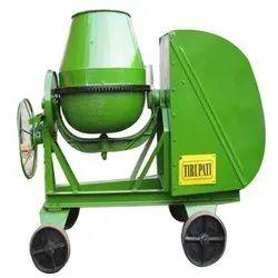 Diesel Engine Concrete Mixer Machine, Output Capacity: 480 Liters