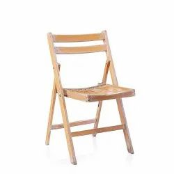 Wood Polished Wooden Folding Chair