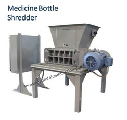 Medicine Bottle Shredder