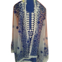 Unstitched Ladies Embroidery Salwar Suit