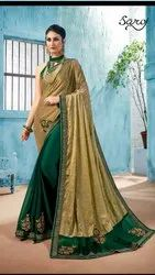 Ethnic Fancy Party Georgette Wear Sarees