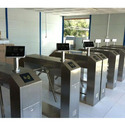 Turnstile with Biometric System