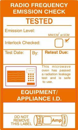 Electronic Equipment Testing Stickers - VishYogi Printers