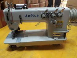Active 3 Needle Chain Stitch with Puller Machine
