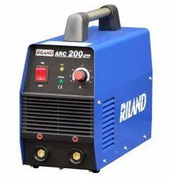 Powder Coated RILAND Make Electric Welding Machine 200 amps