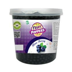 Blueberry Popping Boba, Pack Type: Bucket