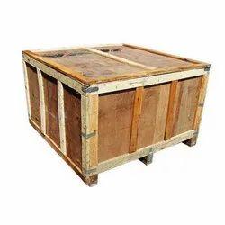 Edible & Non-Edible Hard Wood Wooden Packaging Box, Box Capacity: 1-200 Kg