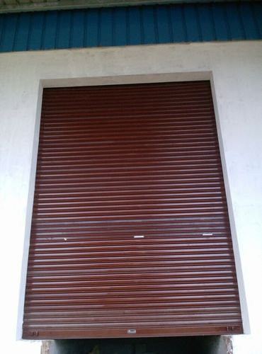 Full Height Mechanical Gear Operated Rolling Shutter