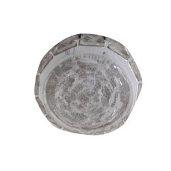 Round Cool White Designer LED Ceiling Light