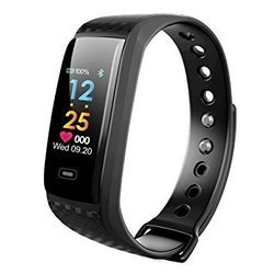Black Smart Fitness Band