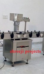 Semi-Automatic Three Phase Single Head Capping Machine