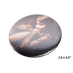 Black Personalized Badges, Size: 2.5x2.5 Inch