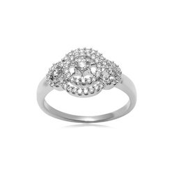 Anniversary And Engagement Women's And Unisex 14 Carat Diamond Ring For Girls