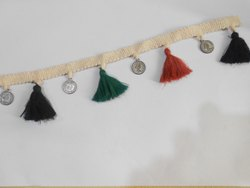 Tassel Fringe With Coin