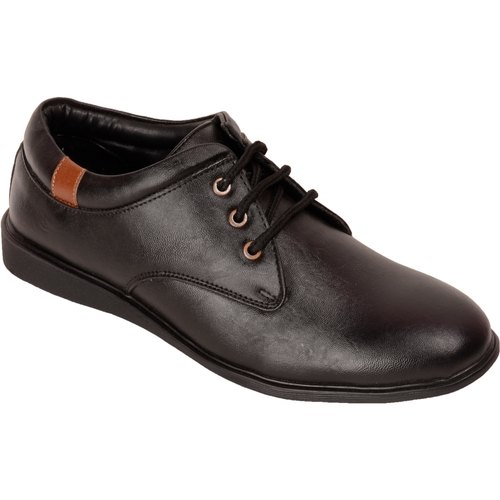 Paragon Men Black Formal Shoes With Lace For Men 9572