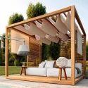 Terrace Wooden Pergola