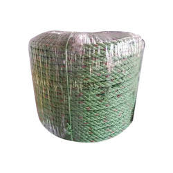 Green Plastic Rope, For Agriculture , Packaging Type: Roll