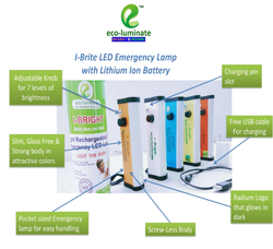 Aluminium Cool White I-Brite LED Emergency Lamps, 10W