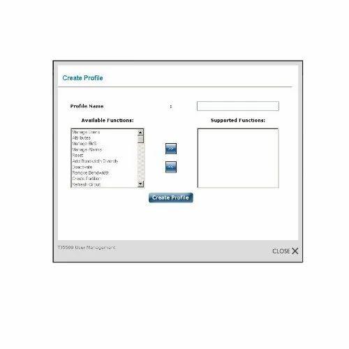 Tejas TJ5500 Network Management System - Tejas Network