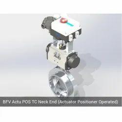 BFV Actu POS TC Neck Emd Actuator Positioner Operated