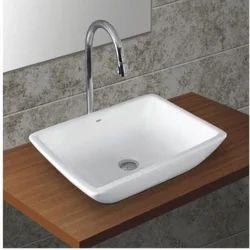 Ceramic White Table Top Basin