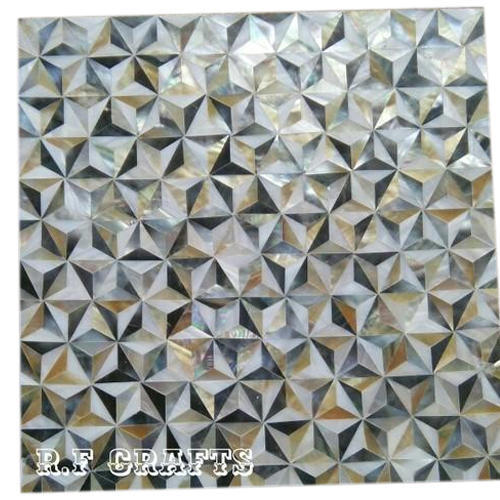 Ceramic Mother Of Pearl Floor Tile