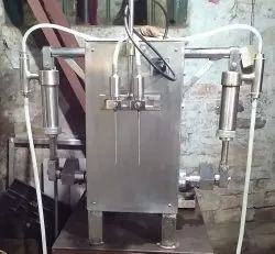 Hand Sanitizer Filling Machine (Two Head)