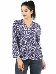 Ladies Patterned Casual Top
