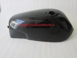 New Norton Fastback Commando Black Painted Gas Fuel Petrol Tank