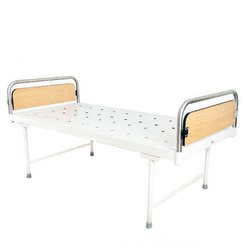 Plain Bed With S s  Head & Foot Bows - Zone Medical, Indore