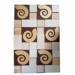 Wall Cladding Copper Slate Stone Mosaic Tiles, Thickness: 1-5 mm, Size: 15x60 Cm
