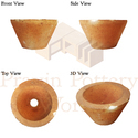 REFRACTORY POURING CUP