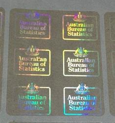 Clear Transparent Custom Holographic Labels