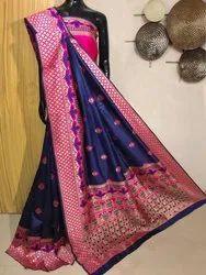 Banarasi Silk Saree   Rajwadi