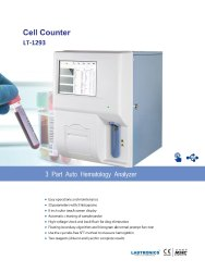 HEMATOLGY ANALYSER - 3  PART