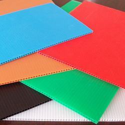 Rectangle PP Corrugated Sheet
