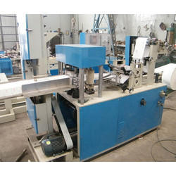 Semi Automatic Paper Napkin Making Machine