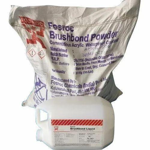 Acrylic Based Polymer Coating FOSROC Brushbond, Packaging Size: 27 KG