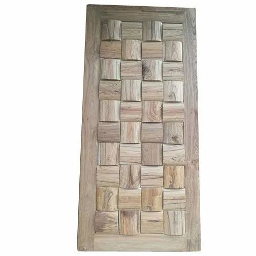 Parekh Traders Hinged Readymade Wooden Door, Size/Dimension: 7 Feet (Height), for Home