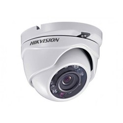 Day & Night Vision 2 MP Hikvision Dome Camera, For Residential, Lens Size: 3.6 Mm