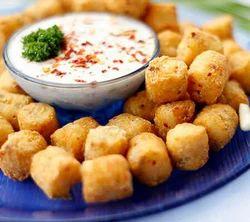 Chilli Garlic Potato Shots (Nuggets)