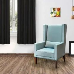 Blue Bold Bella Wing Plywood Chair for Home