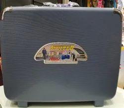 Black plastic Hard suitcase, Size: 24