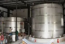 SS Fabricated Storage Tank