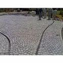 Gray Delhi Quartzite Stone, Solid, For Pavement