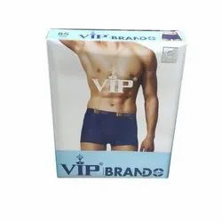Cotton Hosiery Plain Mens VIP Brande Trunk Underwear, Size: 80-110