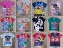 Shirts & Tops Blue Branded Kids Garments, Size: Small