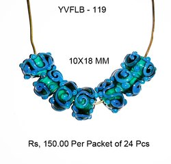 Lampwork Fancy Glass Beads - YVFLB-119